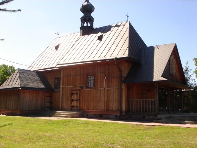 Drewniany kościółek świętego Rocha w Tarnogrodzie